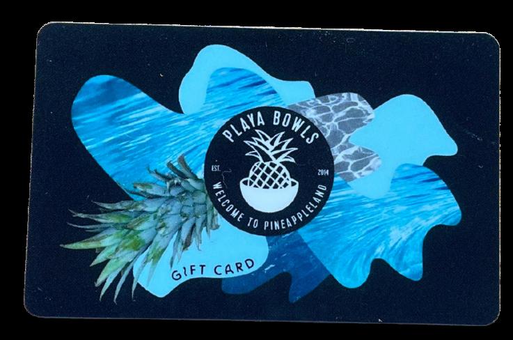 Playa Bowls Gift Cards