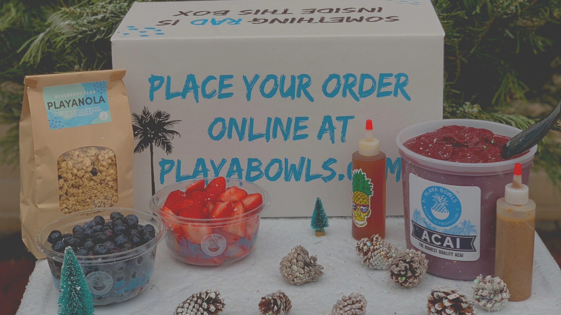 Let Playa Cater Your Holiday
