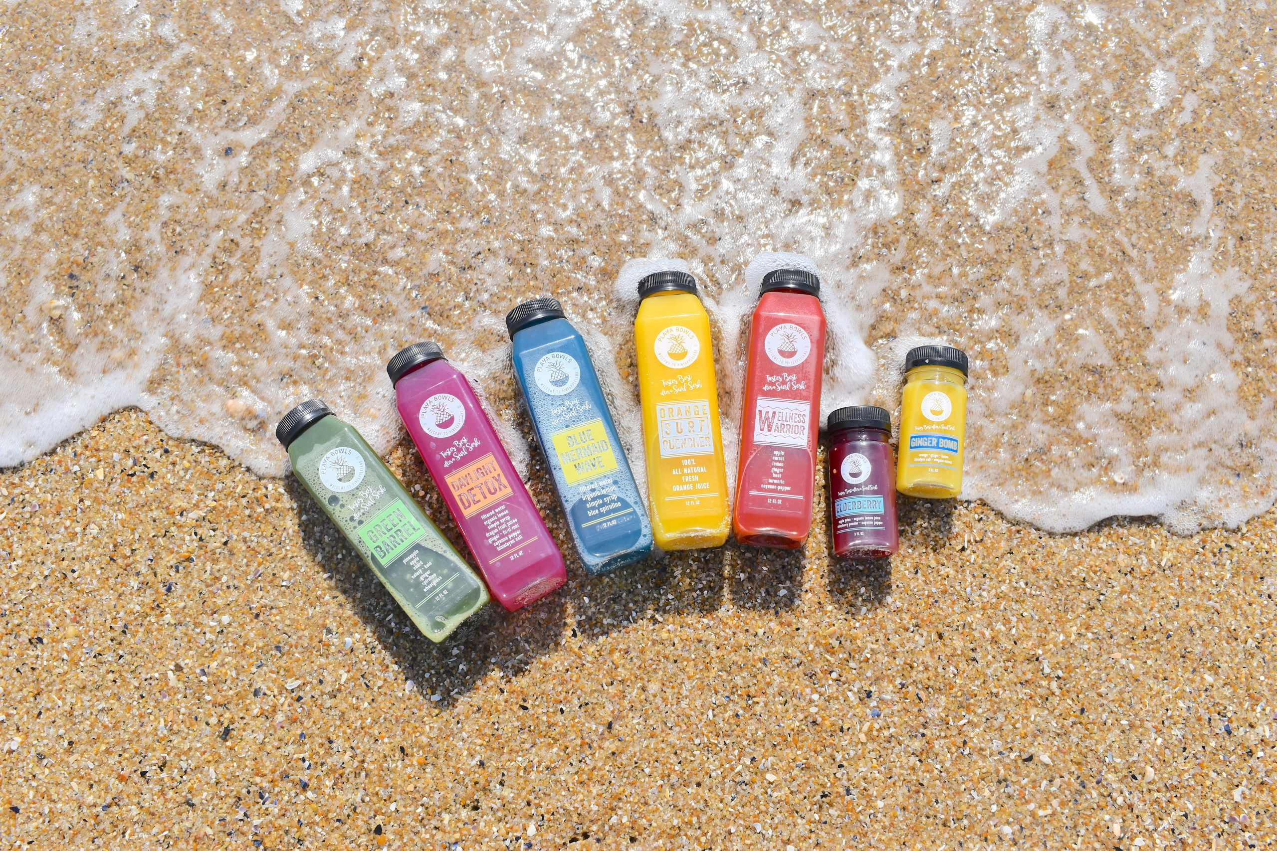 ALL NEW: Playa Cold Pressed Juices are here!