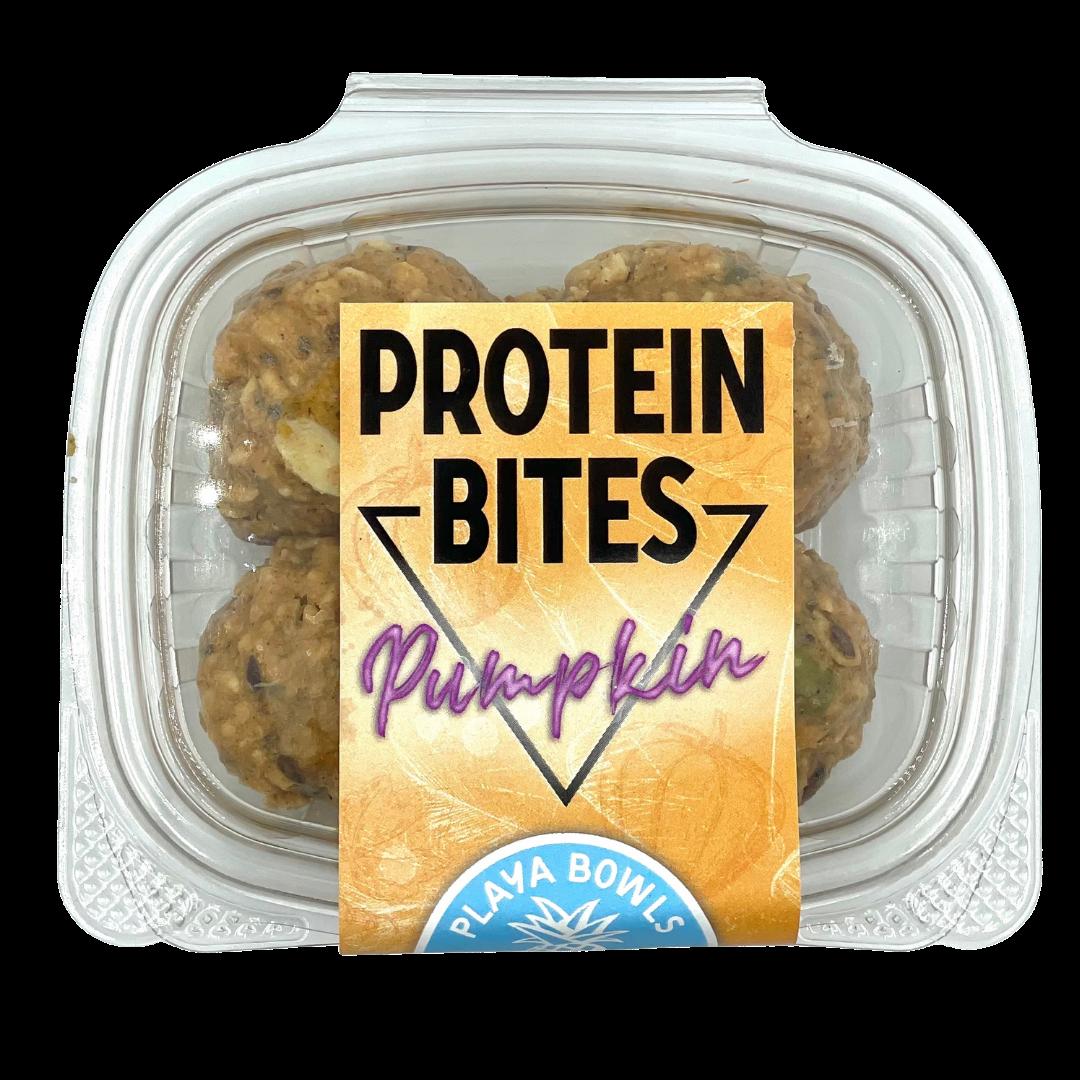 Pumpkin Protein Bites