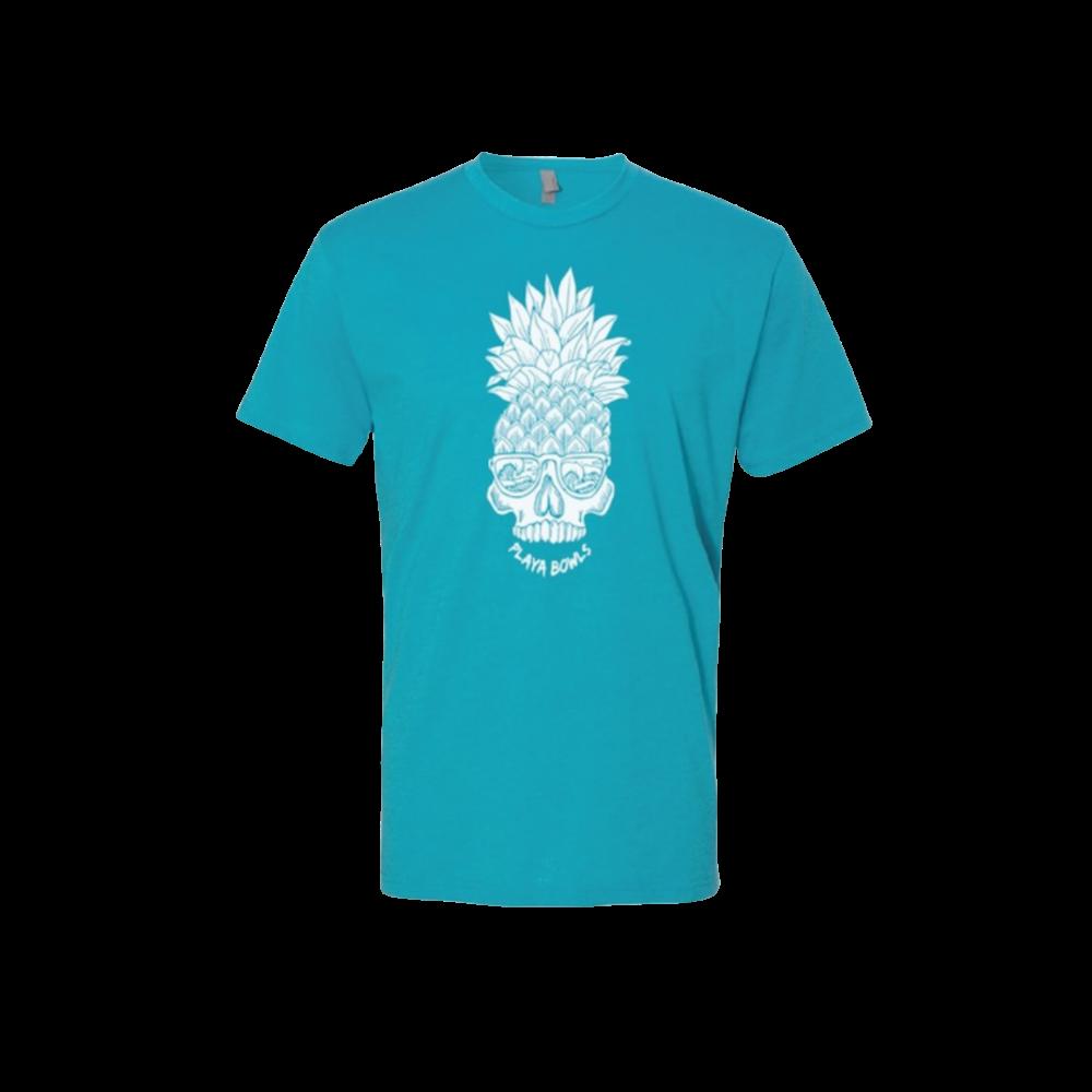 Capri Pineapple Skull T-Shirt